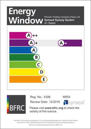 BFRC A+ Certificate