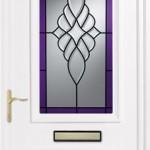 Earith bevelled purple royale