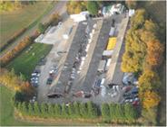 Top view of Pioneer factory