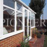 Edwardian Conservatory leading edge view