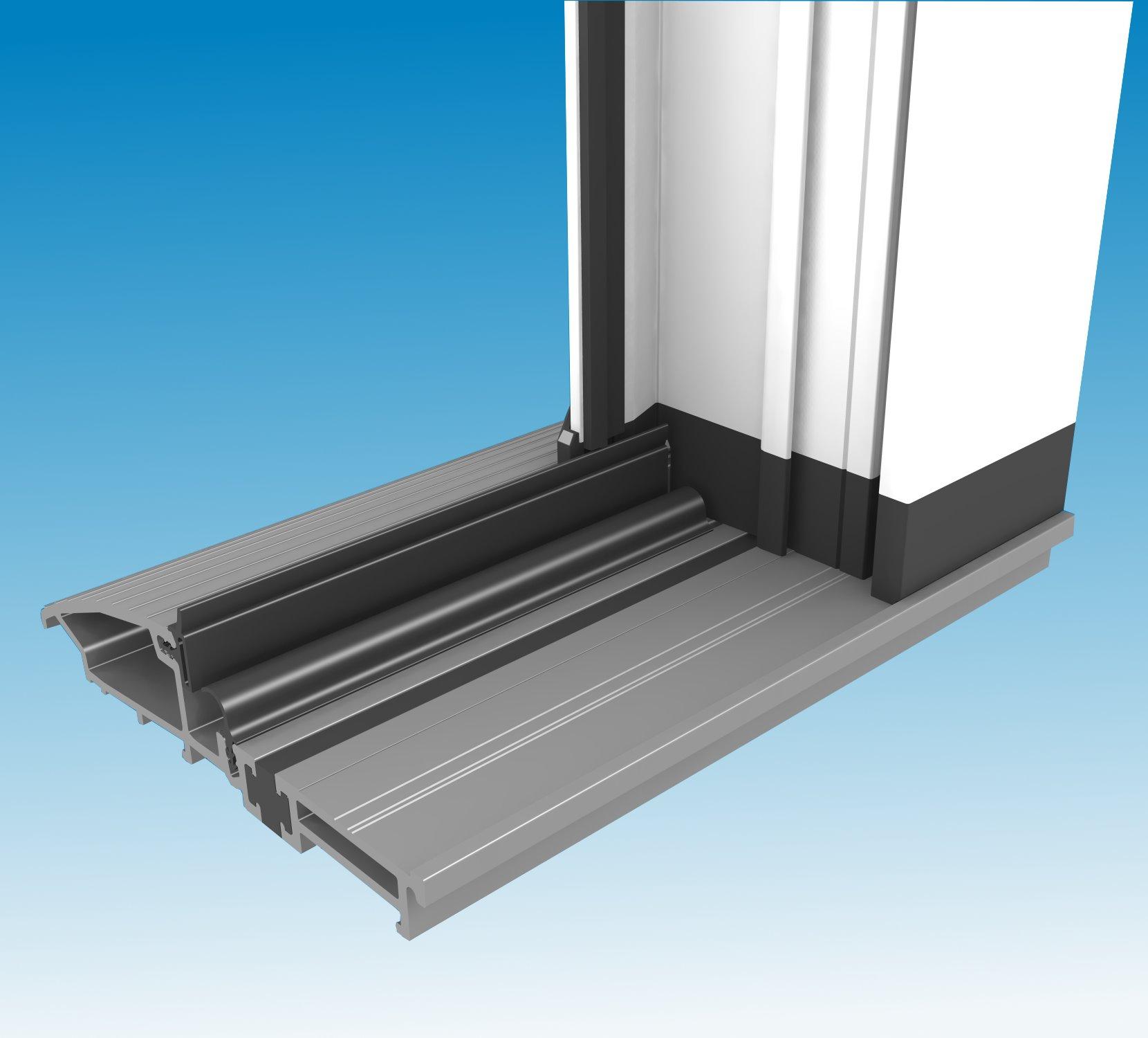 Low threshold door sills home for Door threshold