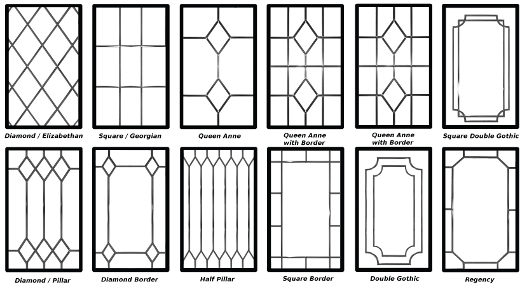 Decorative Leaded Glazing Designs Home