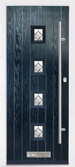 Blue Milton Composite Door
