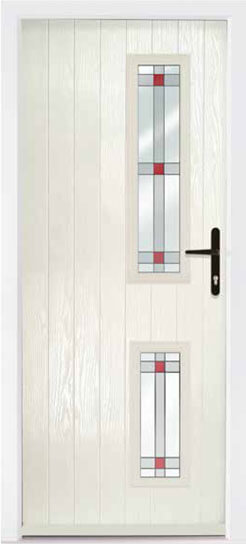 Cream Repton Composite Door